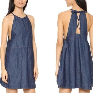 💥HOST PICK💥FP Indigo Blue Denim Apron Dress
